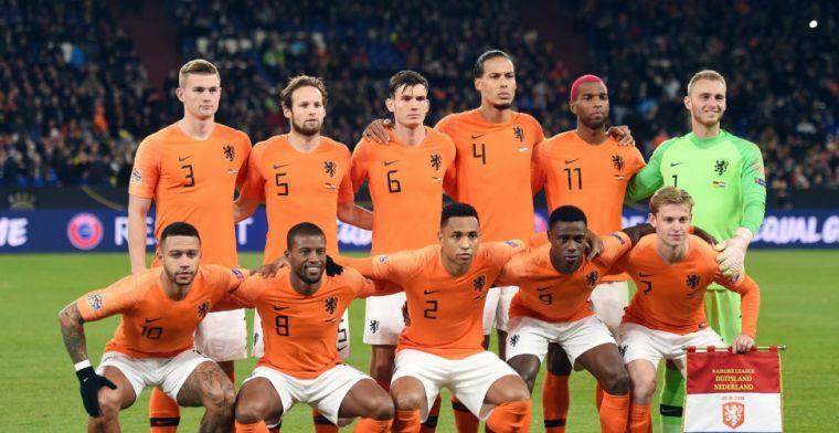Oranje-rechterflank krijgt ervan langs: 'Zullen we even wisselen, Pietertje?'