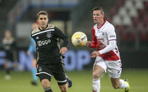 Afbeelding: Jong Ajax verliest spektakelstuk in Utrecht: hattrick én gemiste penalty Venema