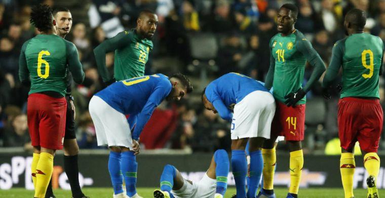 Doelman van KVO houdt Brazilië van het scoren, maar verliest toch met Kameroen