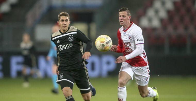 Jong Ajax verliest spektakelstuk in Utrecht: hattrick én gemiste penalty Venema