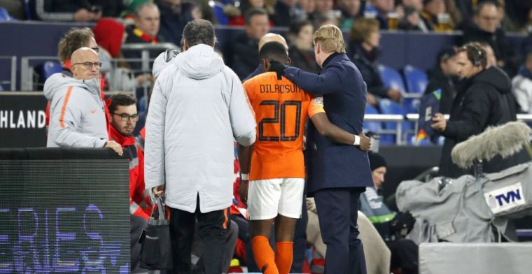 Trots op Dilrosun ondanks pijnlijke Oranje-primeur: 'Ajax zag toekomst in hem'