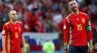 Afbeelding: 'Boze' Iniesta reageert: 'Ik snap het niet, ik heb geen idee waarom hij dat deed'