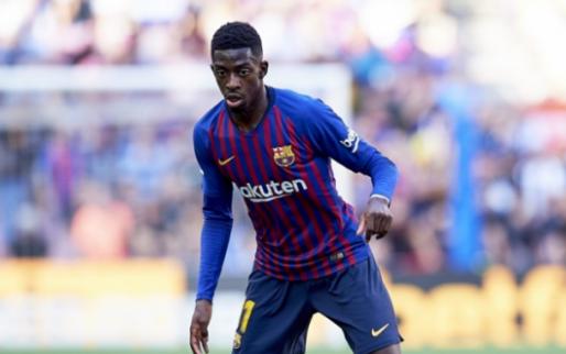 Afbeelding: Dembele redt koppositie voor Barcelona in Madrid met late goal