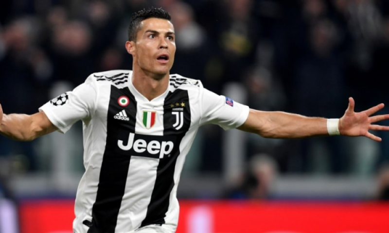Afbeelding: Juventus wint ook van SPAL na negende competietreffer Ronaldo
