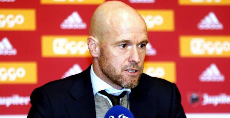 Ten Hag wijst op 'kerngroep' van Ajax: 'Negen spelers, prima ontwikkeling'