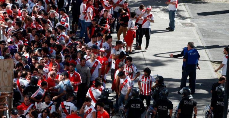 Superclásico verplaatst naar zondag na aanval op spelersbus Boca Juniors