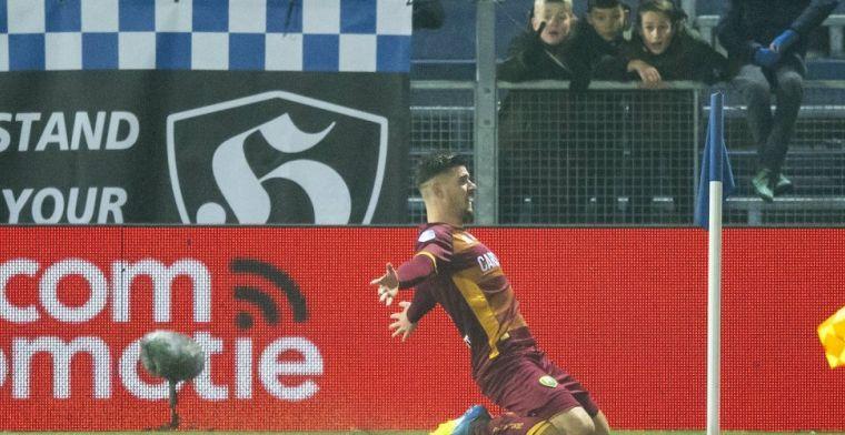 ADO-verdediger na winnende goal: 'Misschien wordt dit wel typisch iets voor mij'
