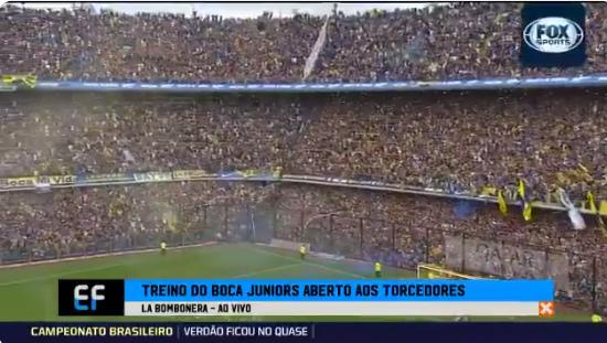 Ongekend: ruim 50.000 Boca-fans bezoeken training voor Copa Libertadores-finale