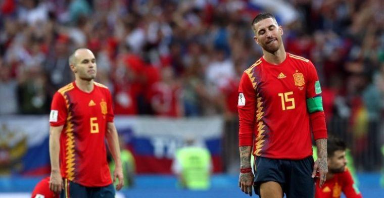 Iniesta niet op zijn gemak tegen Real: 'Het was pure haat, ik kon er niet tegen'