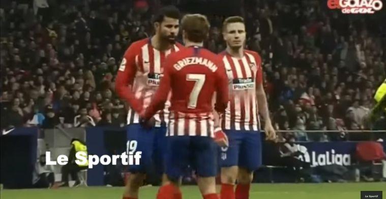 Sierd ziet Diego Costa en Griezmann ruziën: IK ben jouw ploeggenoot, niet HIJ