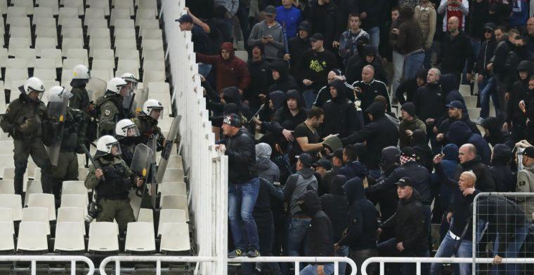Griekse politie na rellen in Athene: 'Geen excessief geweld tegen Ajax-fans'