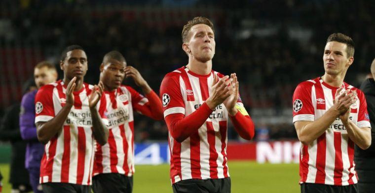 'Het kan gerust dat iemand als Dumfries op z'n laatste benen loopt bij PSV'