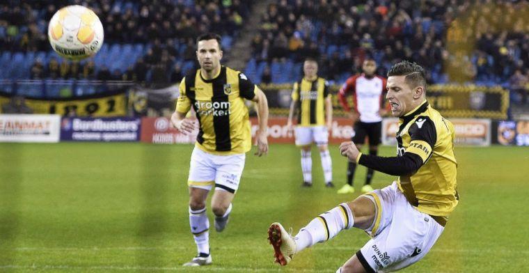 Vitesse-schlemiel gaat 'snel naar huis': 'Er is een heel stuk uit het veld nu'