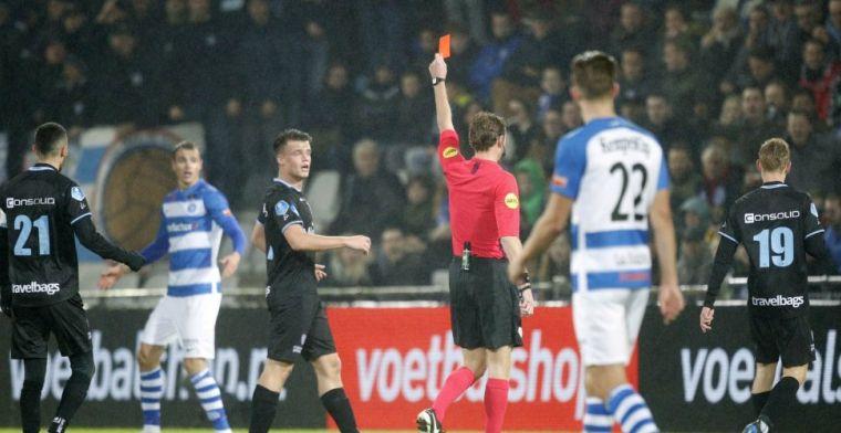 Sven Nieuwpoort hekelt charge van broer Lars: 'Hij zet dat soort tackles vaker in'