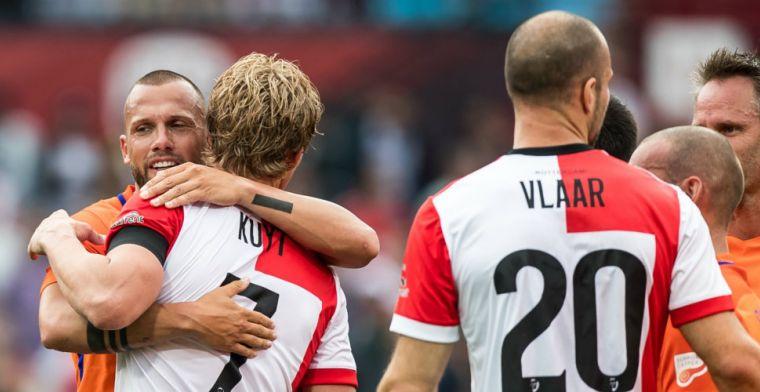 Kuyt verslaat Heitinga in mini-Klassieker, Ajax O17 neemt 'revanche'