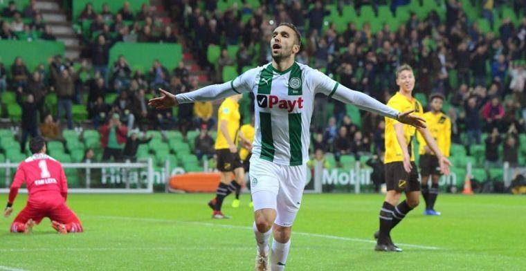 Zeldzaam voetbalfeest voor Groningen-fans: hekkensluiter NAC gekleineerd