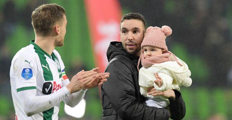 'FC Groningen is met m'n zaakwaarnemer in gesprek, ik hoop dat ze eruit komen'