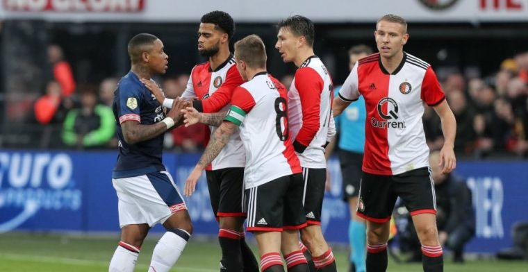 LIVE: Feyenoord trakteert koploper PSV op eerste puntenverlies (gesloten)