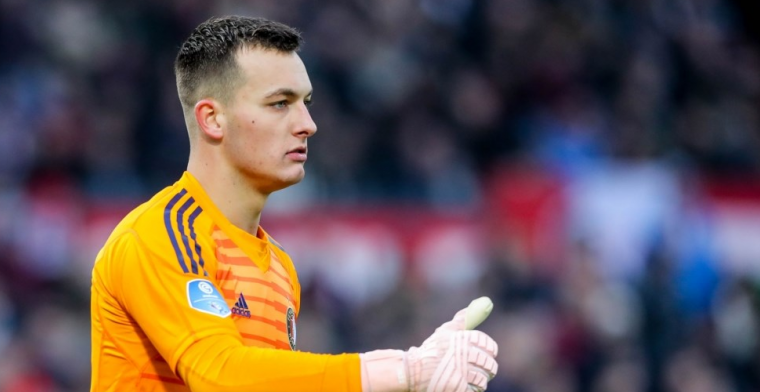 Bijlow wil 'negentig minuten volle bak' tegen PSV: 'De Kuip zal achter ons staan'