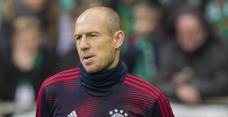 Robben reageert op Van der Vaart: 'Kan zeggen dat dat geen optie is'