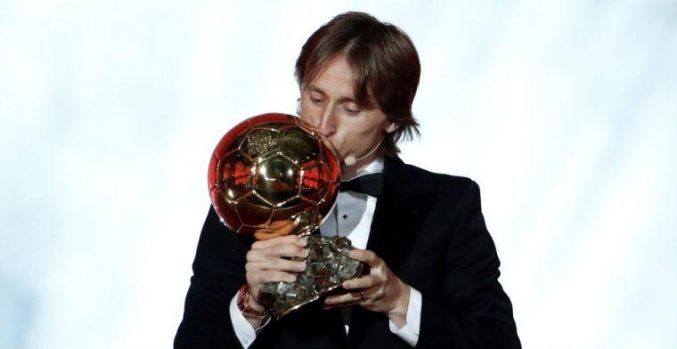 Modric bekroont topseizoen en doorbreekt Messi/Ronaldo-hegemonie opnieuw