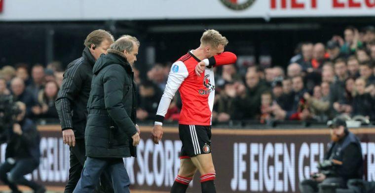 Update: 'Feyenoord minimaal twee wedstrijden zonder geblesseerde Jörgensen'