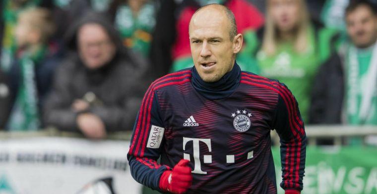 BILD: Robben denkt aan terugkeer naar PSV of FC Groningen
