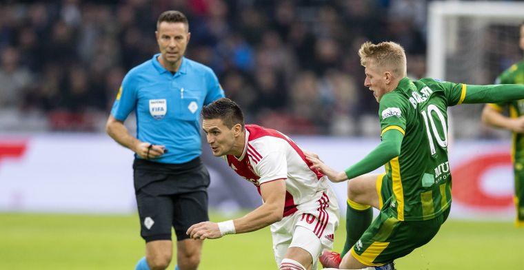 'Je weet dat ik geen Ajax-supporter ben, maar voor mij zijn het leuke wedstrijden'