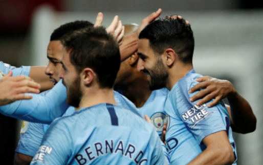 Afbeelding: Manchester City komt met de schrik vrij, mét Kompany in de basis