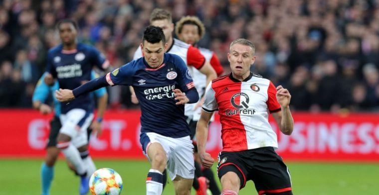 'Hij verpietert bij Feyenoord, maar toen hij scoorde omarmde De Kuip hem'