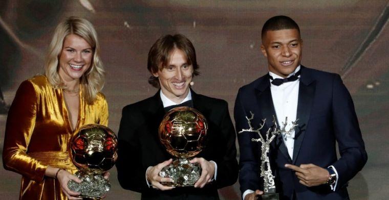 Modric ziet 'overwinning voor het voetbal': 'Sneijder had 'm ook kunnen winnen'