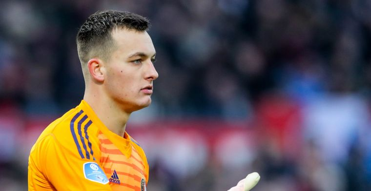 Kraay looft 'stabiele' doelman: 'Binnen paar jaar zit hij tegen Oranje aan'