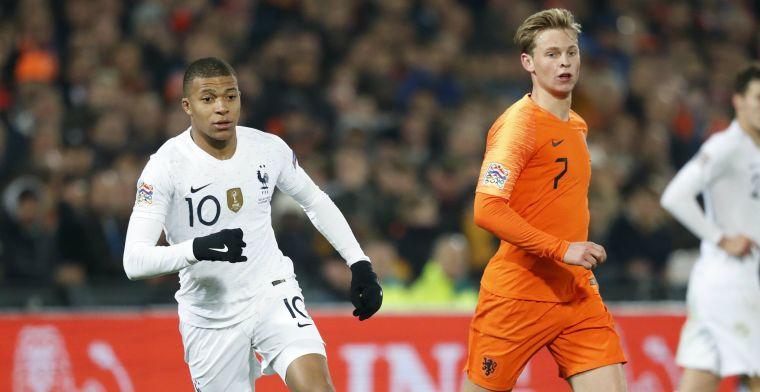 'Fan' Mbappé maakt De Jong warm voor PSG-transfer: 'Hij is heel erg welkom!'