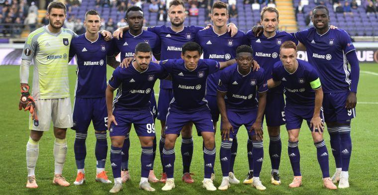 """Hoop voor RSC Anderlecht: """"Slechts op een handvol punten van Club Brugge en Genk"""