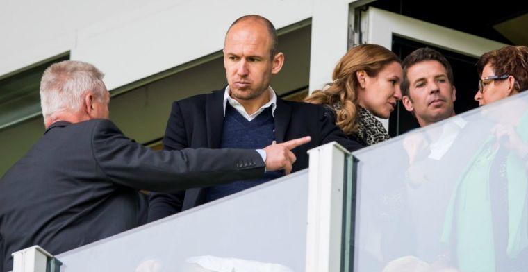 'Prachtig als we hier nog één of twee seizoenen van Robben kunnen genieten'