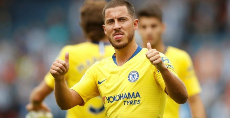 """Sarri reageert op nieuw contract Hazard: """"Elke week een gesprek"""""""