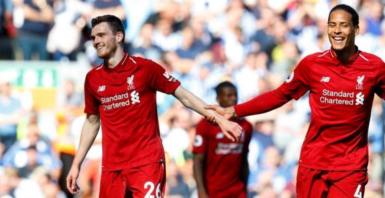 Van Dijk: 'Als hij zich blijft verbeteren, wordt hij de nieuwe Liverpool-captain'