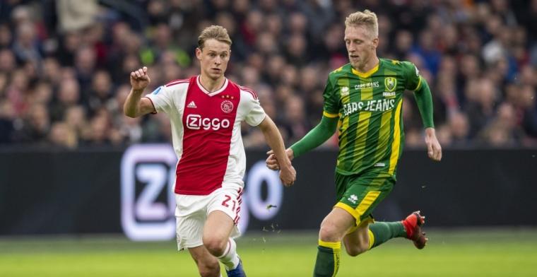 'Misschien blijf ik nog een jaar bij Ajax, misschien vertrek ik'