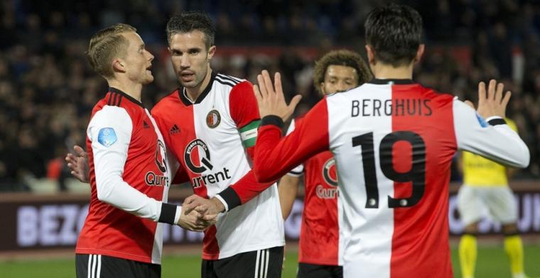 Feyenoord verslaat VVV-Venlo eenvoudig in verlichte Kuip