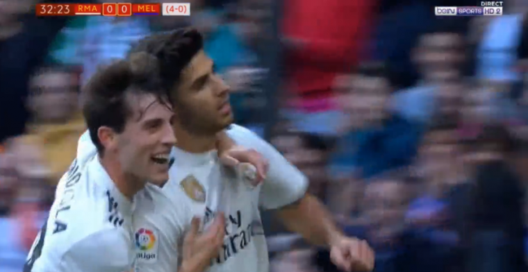 Real Madrid transformeert in Real Asensio: twee doelpunten en een assist