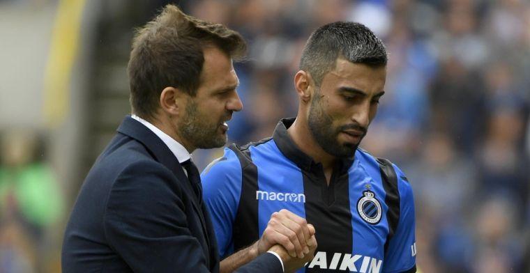 Club Brugge doet het zonder Rezaei en twee andere geblesseerden