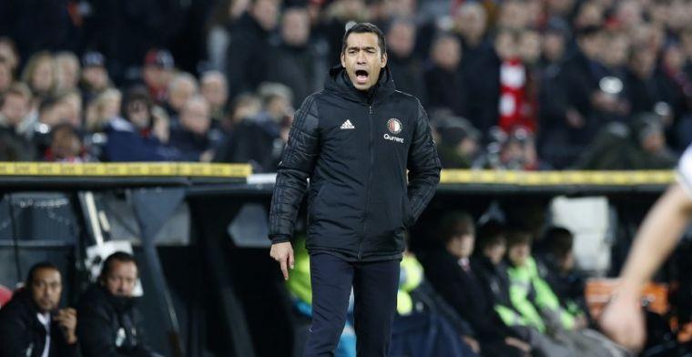 Van Bronckhorst bezig aan inhaalrace met Feyenoord: 'Kan nog spannend worden'