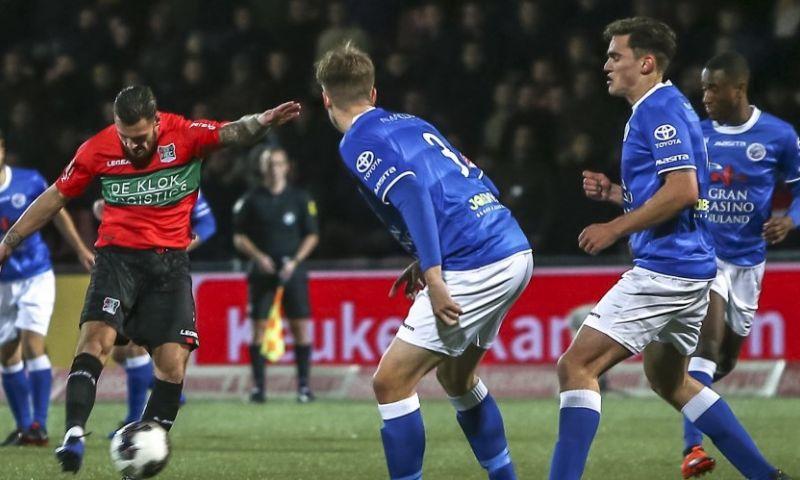 Afbeelding: Den Bosch wint op de valreep topper tegen NEC; Sparta haalt uit