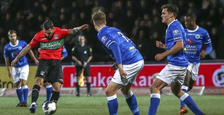 Den Bosch wint op de valreep topper tegen NEC; Sparta haalt uit