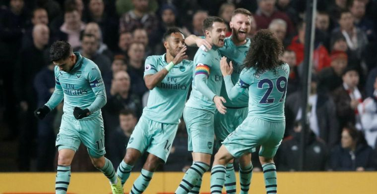'Arsenal-spelers vlak voor Manchester City-thuis aan het lachgas: drietal 'out''