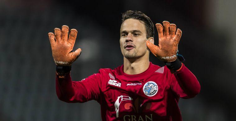 FC Den Bosch-doelman over Derksen: Niet alles geloven wat er in de media staat