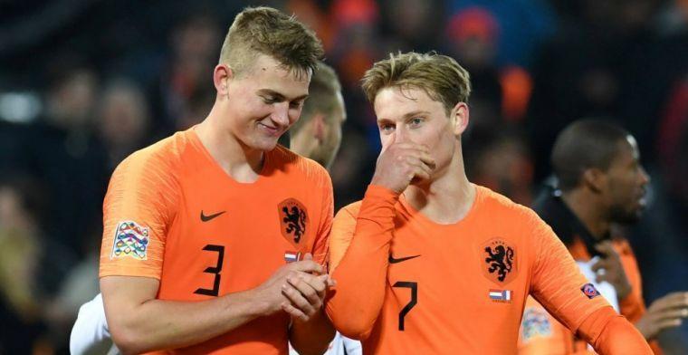 'De Ligt ook bij afspraak De Jong met PSG-directeur, Ajax wil twee PSG-talenten'