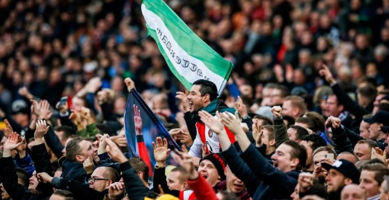 Feyenoord heeft 'ballengooier' te pakken: 'Eruit gevist door camerabeelden'