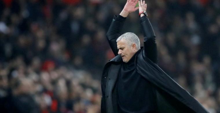 Opvallende actie zaakwaarnemer Mourinho: 'Het is absoluut niet waar'