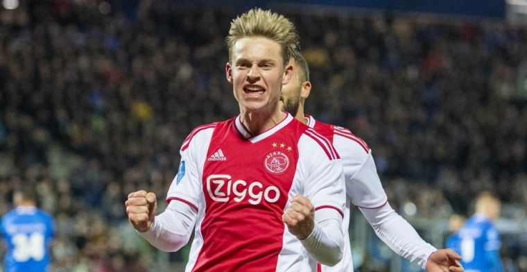 De Jong reageert op PSG-verhalen: 'Ajax is ook nog niet rond met een club'